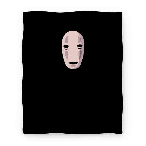 No Face Blanket Blanket