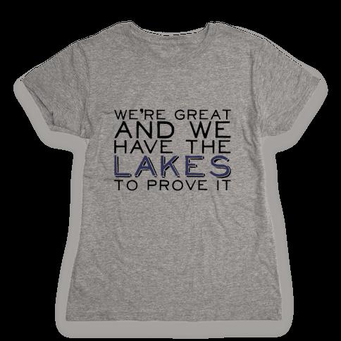Lakes Womens T-Shirt