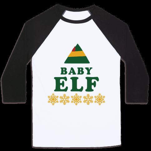 Baby Elf Baseball Tee