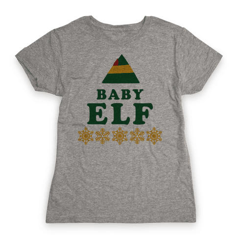 Baby Elf Womens T-Shirt