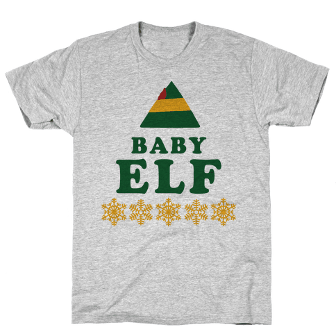 Baby Elf Mens T-Shirt