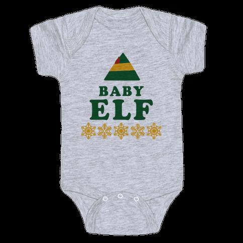 Baby Elf Baby Onesy