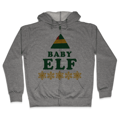 Baby Elf Zip Hoodie