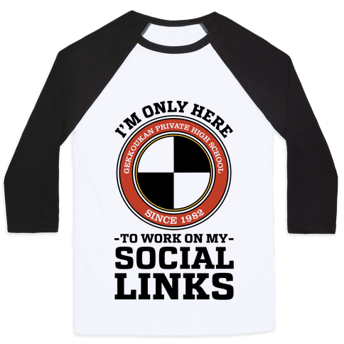 I'm Only Here To Work On My Social Links