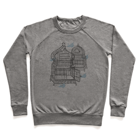 Open Birdcage Pullover