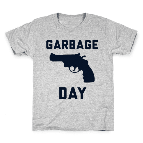 Garbage Day Kids T-Shirt