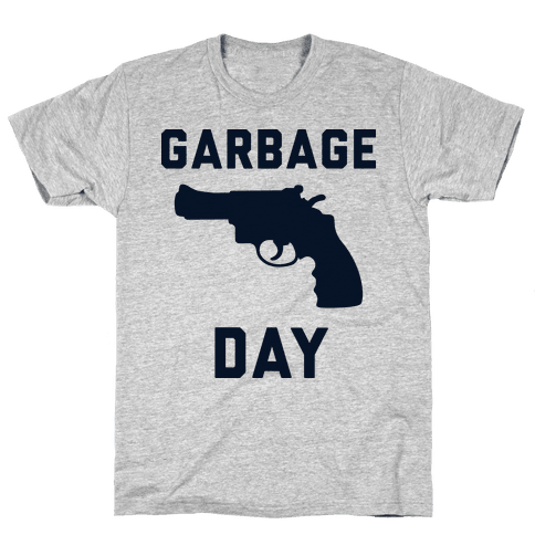 Garbage Day Mens T-Shirt