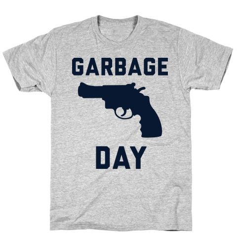 Garbage Day Mens T-Shirt