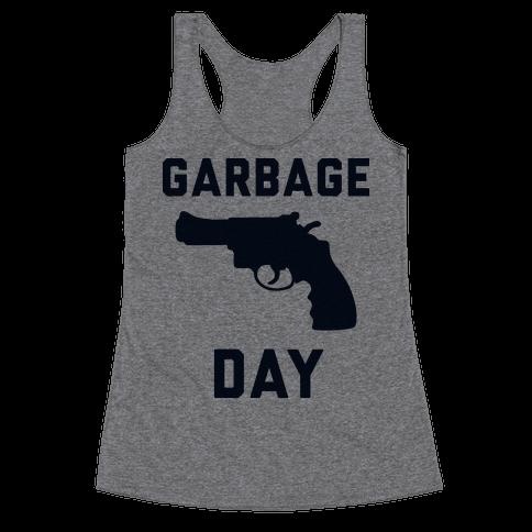 Garbage Day Racerback Tank Top