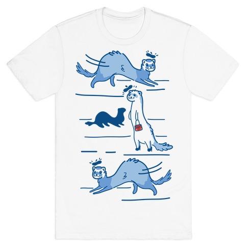 French Fashion Model Ferrets T-Shirt