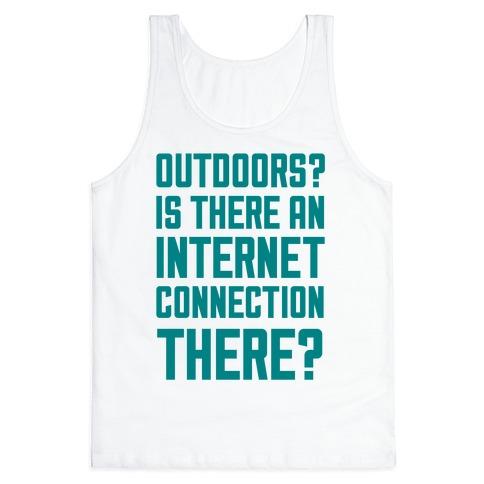 Outdoors? Tank Top