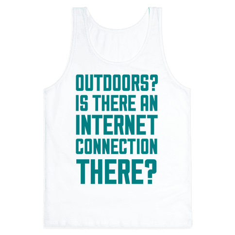 Outdoors? Tank Top