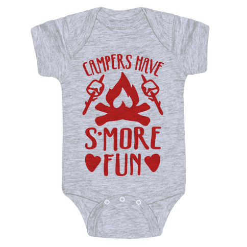 Campers Have S'more Fun Baby Onesy