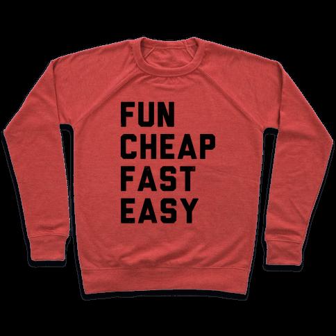 Fun Cheap Fast Easy Pullover
