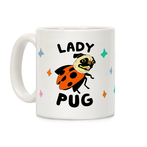 Lady Pug Coffee Mug