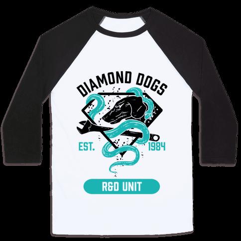 Diamond Dogs R&D Unit Baseball Tee