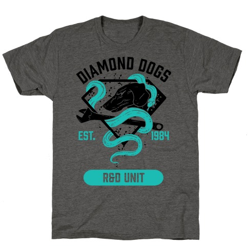 Diamond Dogs R&D Unit T-Shirt