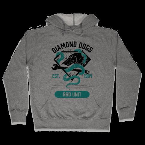 Diamond Dogs R&D Unit Hooded Sweatshirt
