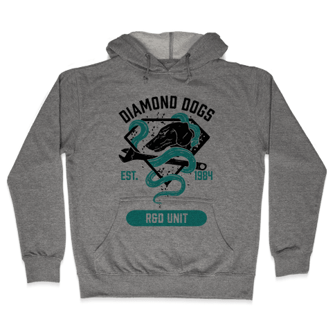 Diamond Dogs R&D Unit Hooded Sweatshirt