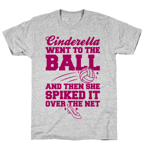 Cinderella Went To The Ball Mens T-Shirt