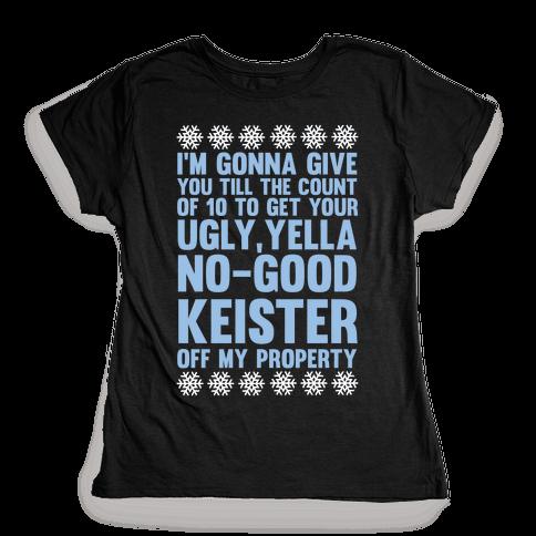 Ugly, Yella, No-Good Keister Womens T-Shirt