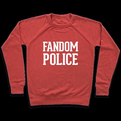 Fandom Police Pullover