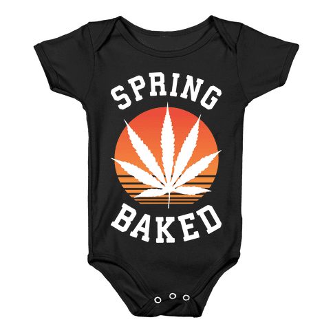 Spring Baked Baby Onesy
