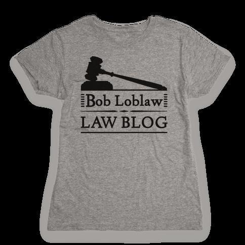 Law Blog Womens T-Shirt