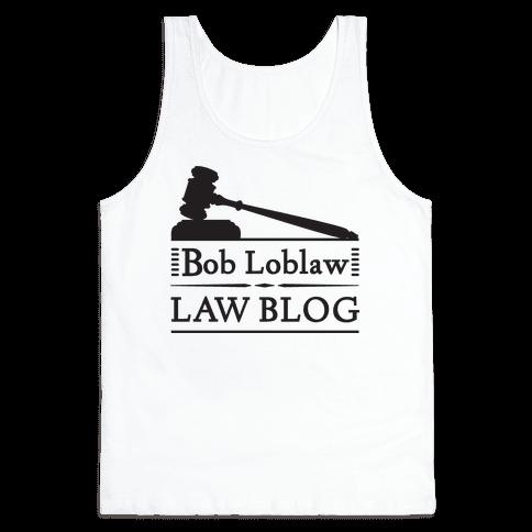 Law Blog Tank Top