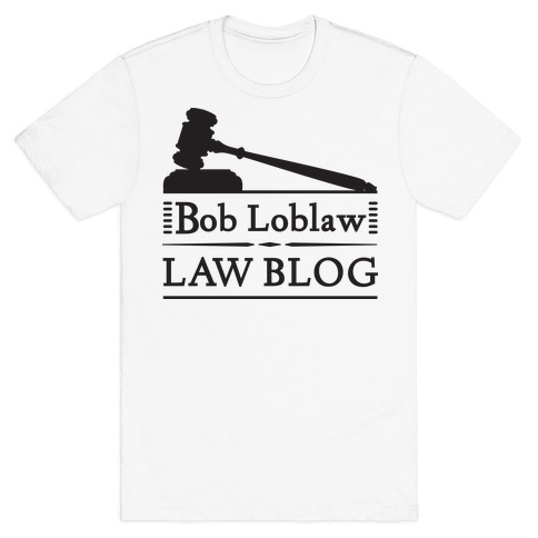 Law Blog Mens T-Shirt