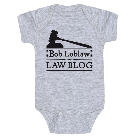 Law Blog Baby Onesy