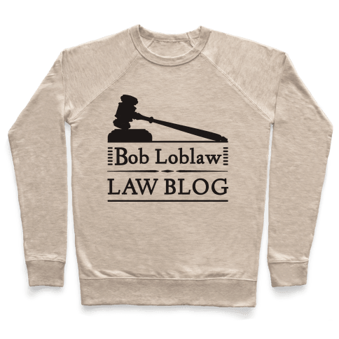 Law Blog Pullover