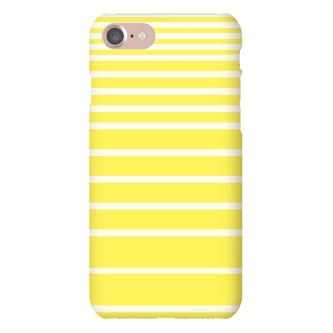 Yellow Stripe Case Phone Case