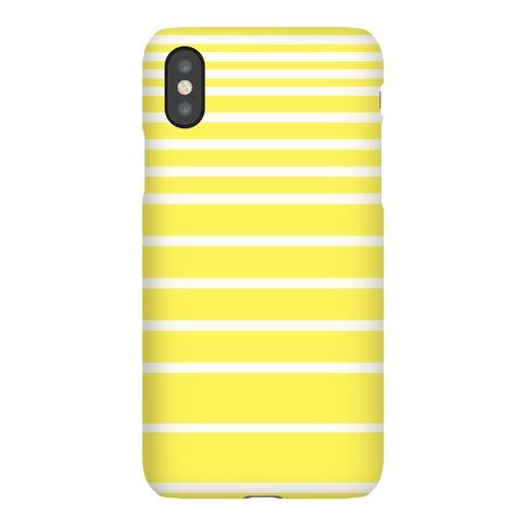 Yellow Stripe Case Phone Case