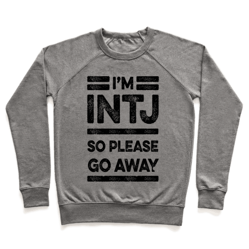 INTJ Personality Please Go Away Pullover