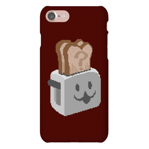 Pixel Toaster Face Phone Case