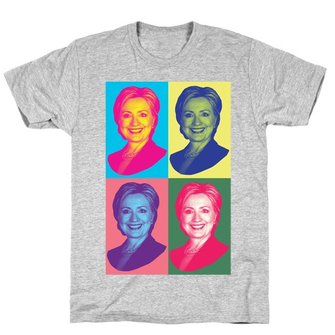 Pop Art Hillary Clinton T-Shirt