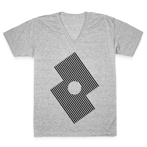 The Eye Of The Storm V-Neck Tee Shirt