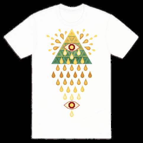 All-Seeing Summer Rainfall Mens T-Shirt
