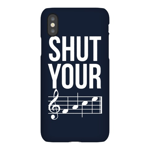 Shut Your (FACE) Phone Case