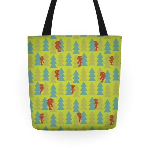 Bigfoot Pattern Tote