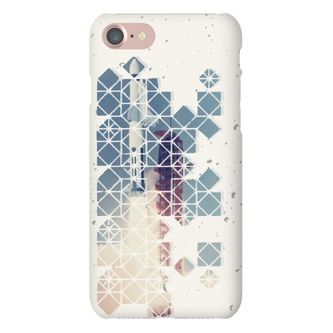 Hexagon Space Ship Phone Case