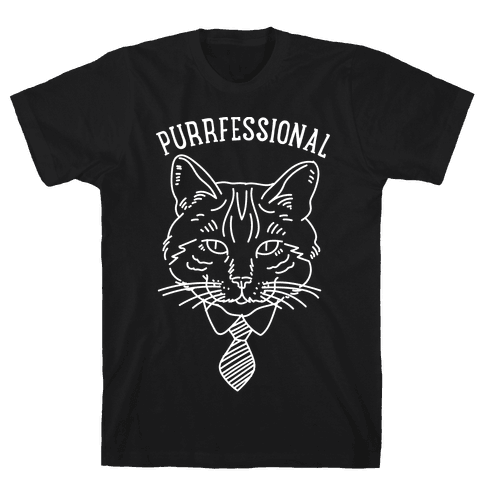 Purrfessional Mens T-Shirt