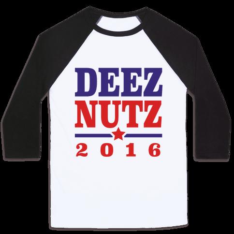 Deez Nutz 2016 Baseball Tee