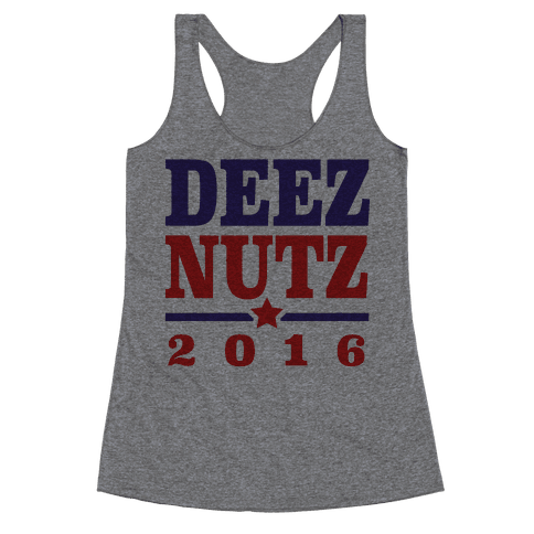 Deez Nutz 2016 Racerback Tank Top