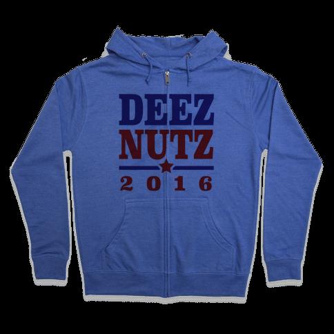 Deez Nutz 2016 Zip Hoodie