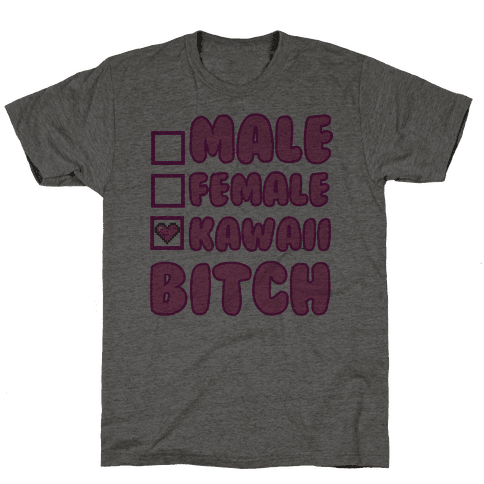 Kawaii Bitch Mens T-Shirt