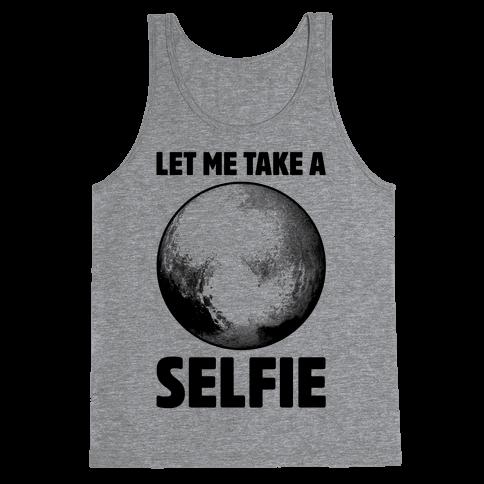 Pluto Selfie Tank Top