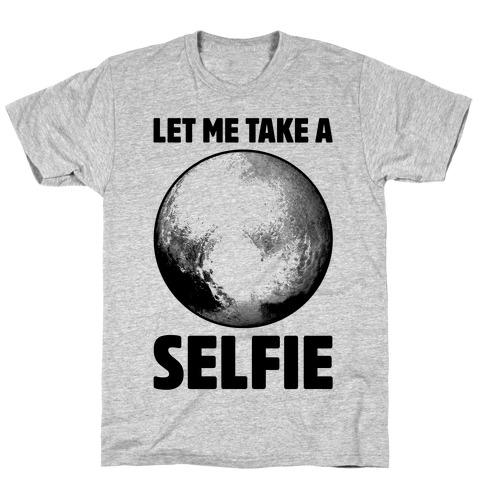 Pluto Selfie T-Shirt
