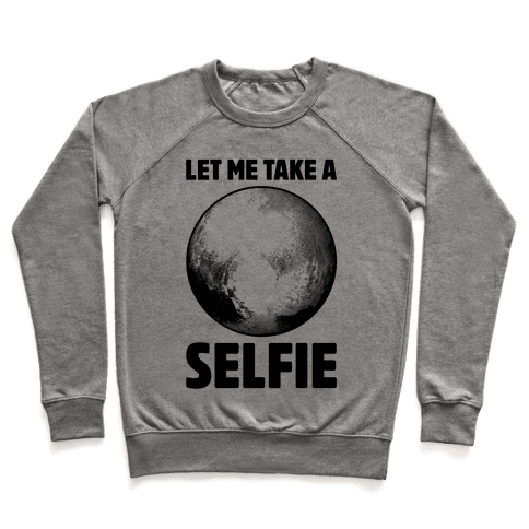Pluto Selfie Pullover